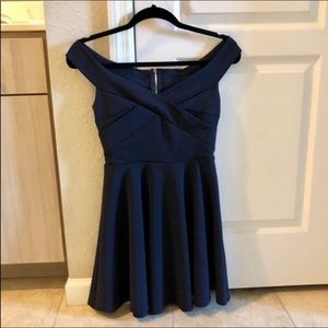 Windsor Off The Shoulder Dress